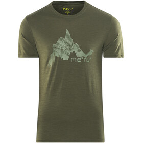 Meru Tumba SS Shirt Men Forest Night
